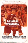 Movie Posters:Western, Fistful of Dollars (United Artists, 1967)....