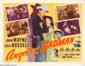 Movie Posters:Western, Angel and the Badman (Republic, R-1959)....