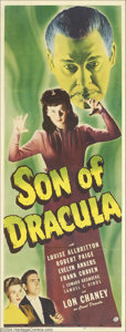 Movie Posters:Horror, Son of Dracula (Universal, 1943)....