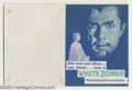 Movie Posters:Horror, White Zombie (United Artists, 1932)....