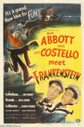 Movie Posters:Comedy, Abbott and Costello Meet Frankenstein (Universal, 1948)....