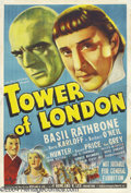 Movie Posters:Horror, Tower of London (Universal, 1939)....