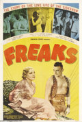 Movie Posters:Horror, Freaks (MGM, R-1949)....