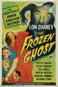 "Movie Posters:Horror, Frozen Ghost (Universal, 1944). One Sheet (27"" X 41'). An installment from Universal's ""Inner Sanctum"" series, which always ..."