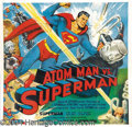 Movie Posters:Serial, Atom Man vs. Superman (Columbia, 1950)....