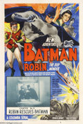 Movie Posters:Serial, The New Adventures of Batman and Robin (Columbia, 1949)....