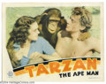 Movie Posters:Adventure, Tarzan the Ape Man (MGM, 1932)....
