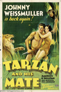 Movie Posters:Action, Tarzan and His Mate (MGM, 1934)....