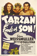 Movie Posters:Adventure, Tarzan Finds a Son (MGM, 1939)....