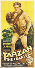 Movie Posters:Action, Tarzan the Fearless (Principal Distributing, 1933)....