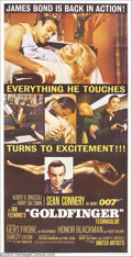 Movie Posters:Action, Goldfinger (United Artists, 1964)....