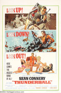 Movie Posters:Science Fiction, Thunderball (United Artists, 1965)....