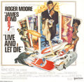 Movie Posters:Action, Live and Let Die (United Artists, 1973)....