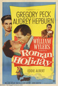 Movie Posters:Romance, Roman Holiday (Paramount, 1953)....
