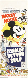 Movie Posters:Animated, Donald's Better Self (RKO, 1938)....