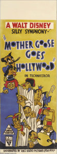 "Movie Posters:Animated, Walt Disney's Silly Symphony ""Mother Goose Goes Hollywood"" (RKO, 1938)...."