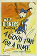 Movie Posters:Animated, A Good Time For a Dime (RKO, 1941)....