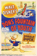 Movie Posters:Animated, Don's Fountain of Youth (RKO, 1953)....