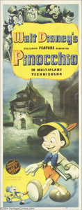 Movie Posters:Animated, Pinocchio (RKO, 1940)....