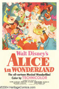 Movie Posters:Animated, Alice in Wonderland (RKO, 1951)....