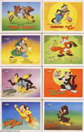 Movie Posters:Animated, Terrytoons Stock Lobby Cards (20th Century Fox, 1946)....