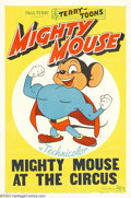 "Movie Posters:Animated, Mighty Mouse ""At the Circus"" (20th Century Fox, 1944)...."