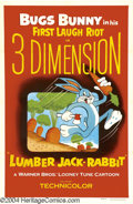 Movie Posters:Animated, Lumber Jack-Rabbit (Warner Brothers, 1954)....