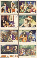 Movie Posters:Drama, King of Kings (Pathe', 1927).... (8 pieces)