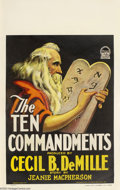 Movie Posters:Drama, The Ten Commandments (Paramount, 1923)....