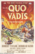 Movie Posters:Action, Quo Vadis (MGM, 1951)....