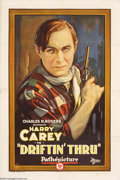 Movie Posters:Western, Driftin' Thru (Pathe', 1926)....