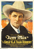 Movie Posters:Western, The Great K & A Train Robbery (Fox, 1926)....