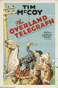 Movie Posters:Western, The Overland Telegraph (MGM, 1929)....