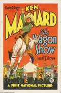 Movie Posters:Western, The Wagon Show (First National, 1928)....