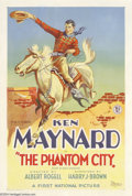 Movie Posters:Western, The Phantom City (First National, 1928)....