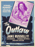 Movie Posters:Western, The Outlaw (United Artists, 1946)....