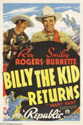 Movie Posters:Western, Billy the Kid Returns (Republic, 1938)....