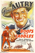 Movie Posters:Western, Boots and Saddles (Republic, 1937)....