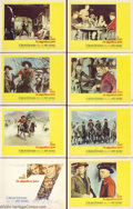 Movie Posters:Western, The Magnificent Seven (United Artists, 1960).... (9 pieces)