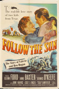 Movie Posters:Sports, Follow the Sun (20th Century Fox, 1951)....