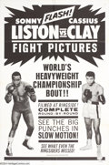 Movie Posters:Sports, Liston vs Clay (20th Century Fox, 1964)....
