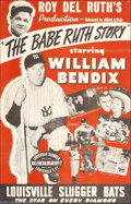 Movie Posters:Sports, The Babe Ruth Story (Allied Artists, 1948)....