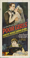 Movie Posters:Drama, Poor Girls (Columbia, 1927)....