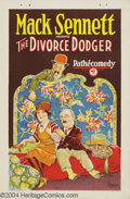 Movie Posters:Comedy, The Divorce Dodger (Pathe', 1926)....