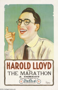 Movie Posters:Comedy, The Marathon (Pathe', 1919)....