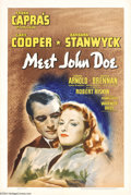 Movie Posters:Drama, Meet John Doe (Warner Brothers, 1941)....