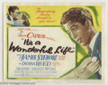 Movie Posters:Drama, It's a Wonderful Life (RKO, 1946)....