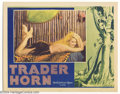 Movie Posters:Action, Trader Horn (MGM, 1931)....