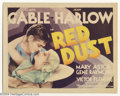 Movie Posters:Romance, Red Dust (MGM, 1932)....