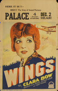 Movie Posters:Action, Wings (Paramount, 1927)....